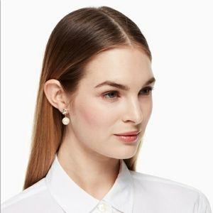 Kate Spade New York lady Marmalade pearl earrings